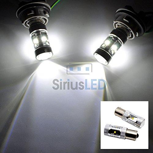 2X 1156 7056 30W Cree Smd Ba15S White Ultra Bright Reverse Backup Led Light Bulb
