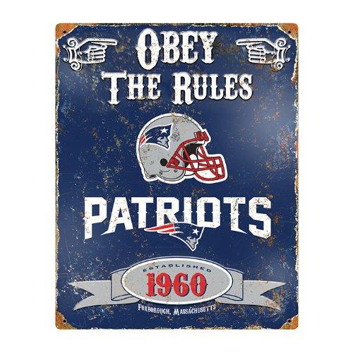 NFL New England Patriots Vintage Sign