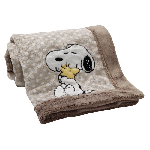 Lambs & Ivy Bff Blanket, Snoopy front-380256