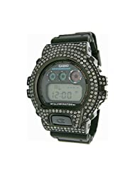 Buy Cheap Joe Rodeo G-Shock Men's Diamond Watch (10.00 ct.tw.) USA Sale