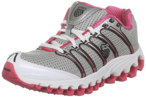 K-Swiss Women's Tubes Run 100 A Silver/Pink/White