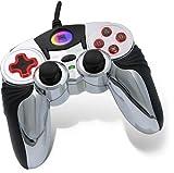 echange, troc Speedlink - Manettes - Manette PS2 : ChromePad, Red Glow [SL-4233-TRD]