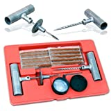 Professional Grade 35-Piece Tire Repair Kit - for Auto Repair Shop or DIY