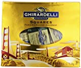GHIRARDELLI CHOCOLATE Squares Heritage Medium Window Tote, 9.83-Ounce Bags (Pack of 3)