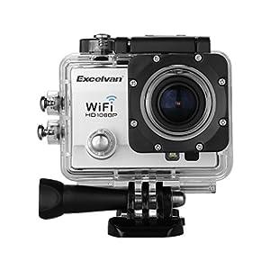 Excelvan -  Camera Sport 30M Étanche FHD 1080P 12MP H.264 WIFI, TC-Q5 Multifonction 2.0