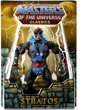 Picture of Mattel He-Man Masters of the Universe Exclusive Action Figure Stratos (B001TLNFYM) (Mattel Action Figures)