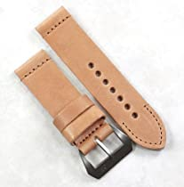 "Mario Paci Special Edition ""Private Reserve"" in Tan with MP sewn in Pre-V buckle 24/24 130/85"