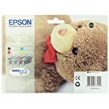 Epson T0615 Multipack d&#39;origine T061 Cartouche Noire + 3 couleurs pour D68 88 88PE DX3850 4250 4850par Epson