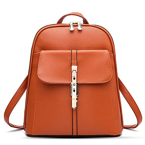 fashion-leather-backpack-for-women-girls-casual-book-bag-sports-travel-daypack-khaki