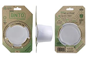 BNTO by Cuppow - Canning Jar Lunchbox Adaptor - Wide Mouth - 6oz - Clear