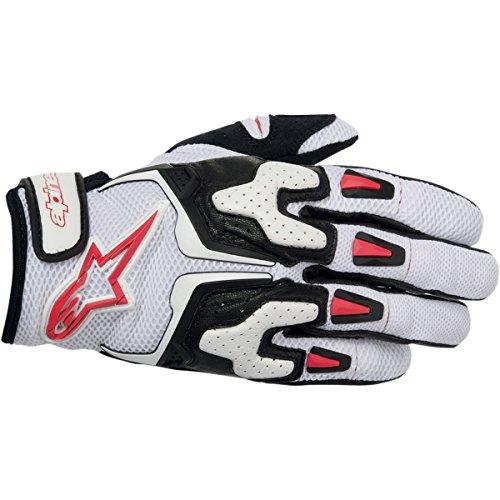 Alpinestars SMX-3 Air Gloves White/Black/Red S Small