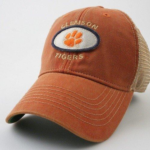 Athletic Clemson University Tigers Old Favorite Adjustable Trucker Hat