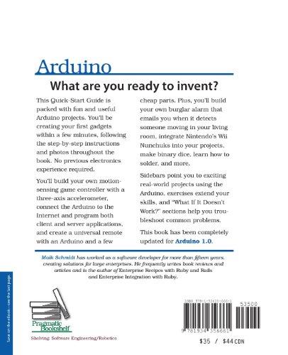 Arduino: A Quick-Start Guide (Quick Start Guides)