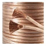 20m Loud Speaker Cable OFC Oxygen Free Copper 4.3mm 326 strand Studio Grade by ASCL