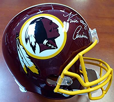 Kirk Cousins Autographed Washington Redskins Full Size Helmet PSA/DNA ITP Stock #103878