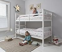 Anders Bunk Bed in White Splits into 2 Singles Noa & Nani