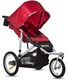 Joovy Zoom 360 Swivel Wheel Jogging Stroller, Red