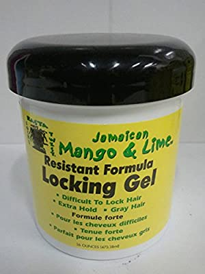 Jamaican Mango and Lime Resistant Formula Locking Hair Gel, 16 Ounce