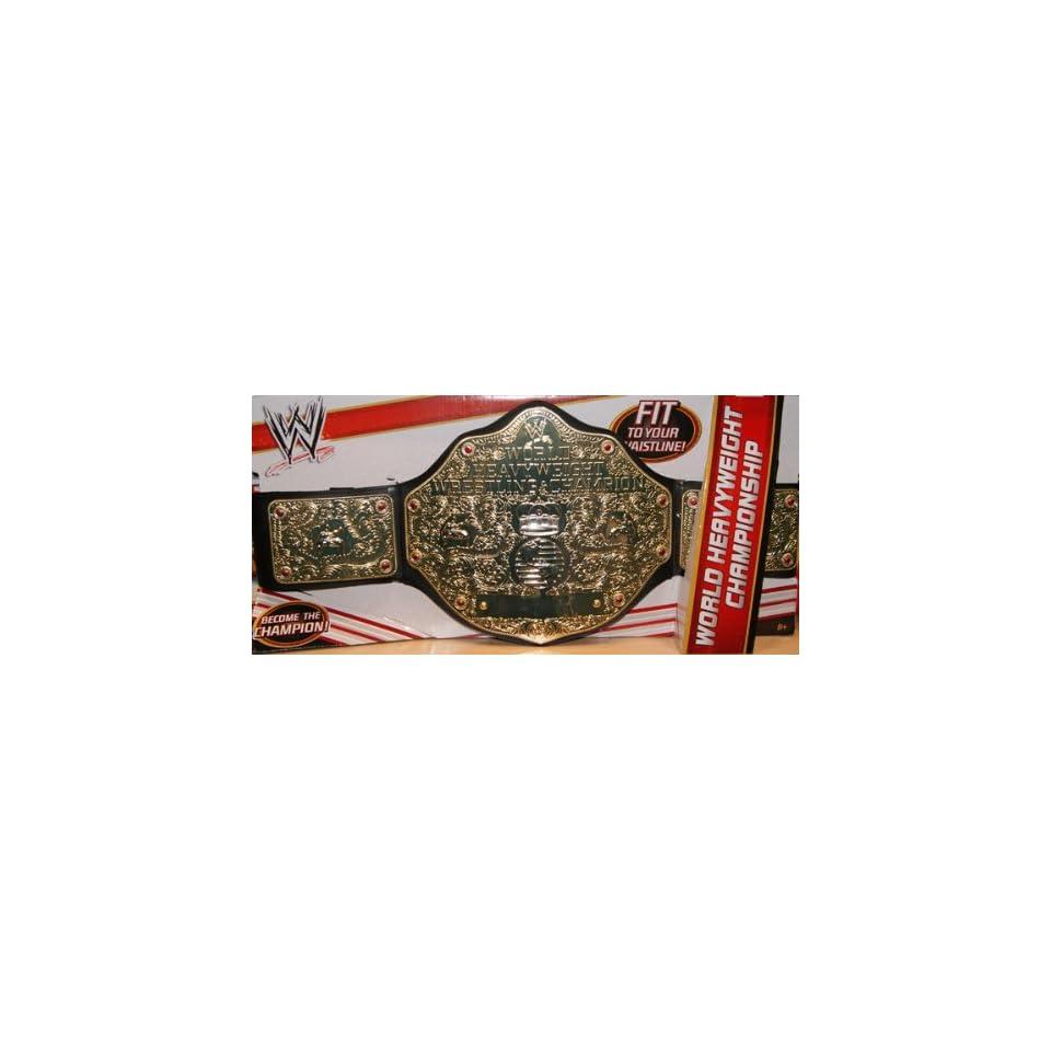 WORLD HEAVYWEIGHT CHAMPIONSHIP WWE MATTEL KID SIZE TOY ...