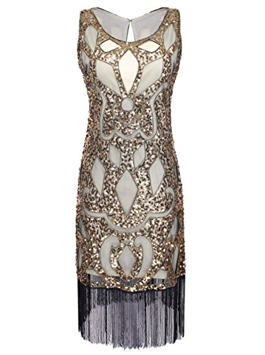 Vijiv-Womens-1920S-Sequined-Beaded-Embellishment-Art-Deco-Paisley-Flapper-Dress