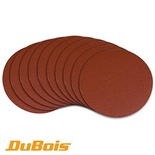 dubois-r110290-150-mm-80-grit-psa-aluminum-oxide-self-adhesive-sanding-discs-10-pack