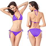 O-C-Damen-Bikini-Set-Gr-onesize-Violett