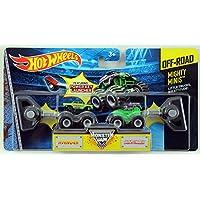 Hot Wheels Monster Jam Mighty Minis Off-Road - Avenger & Grave Digger