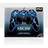 Playstation 2  i.Glow Controller with 5 built in LED's ~ DreamGEAR
