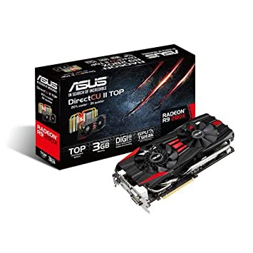 ASUS R9280X DC2T 3GD5 Graphics Cards R9280X DC2T 3GD5
