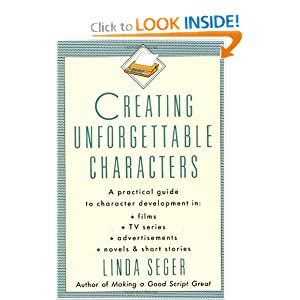Writer's Resources: Cover of Linda Seger's Creating Unforgettable Characters