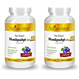 Natures Velvet Combo Of Shankpushpi Pure Extract (500 Mg), 60 Veggie Capsule(s)