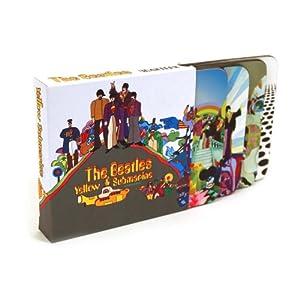 The Beatles - Yellow Submarine Coasters 4 pack