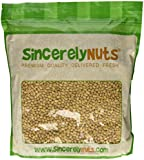Sincerely Nuts Soybeans (Soy Nuts) Roasted & Salted - Five (5) Lb. Bag -Insanely Healthy Snack - Exquisite Crunchy Taste - Kosher Certified