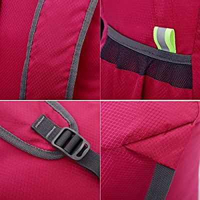 WATERFLY Super Lightweight Nylon Sports Shoulder Bag Backpack School Backpack Laptop Backpack Bag Hiking Backpack Camping Backpack Climbing Bag Pack Cover Satchel Bookbag from WATERFLY