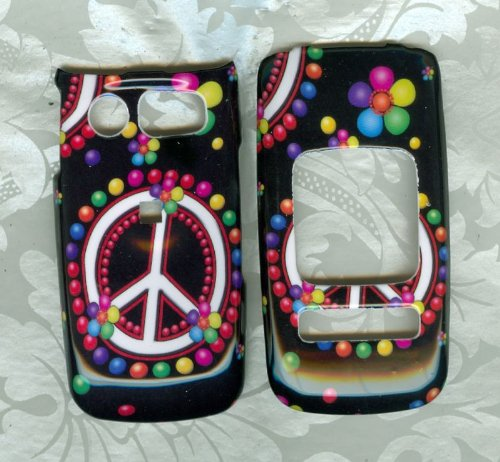 peace dot Pantech Breeze II 2 P2000 AT&T PHONE COVER [Wireless Phone Accessory] (Pantech Breeze P2000 compare prices)