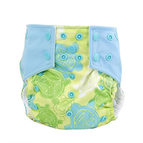Iuhan Fashion New Baby Adjustable Reusable Washable Cloth Diaper Nappy (F) (Cloth Diaper Packages All In One compare prices)