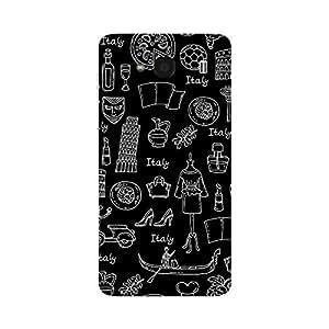 Garmor Designer Plastic Back Cover For Xiaomi Redmi 2S