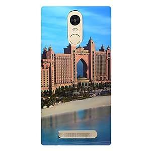 Shopme Printed Designer Back cover_7191_for Xiaomi Redmi Note 3