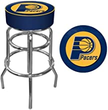 NBA Indiana Pacers Padded Swivel Bar Stool by Trademark Gameroom