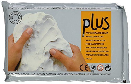 ACTIVA Plus Clay Natural Self-Hardening Clay White 2.2 pounds (Modeling Clay compare prices)