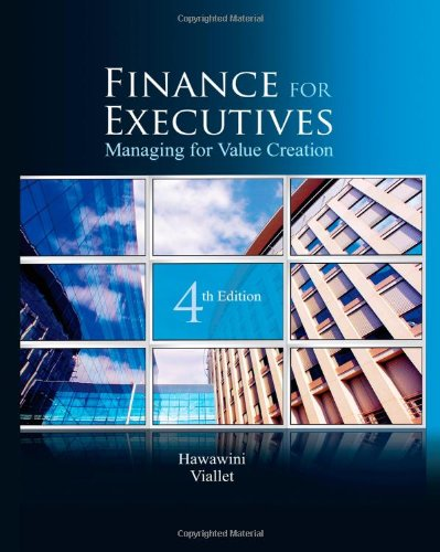 Finance for Executives: Managing for Value Creation, 4th Edition PDF