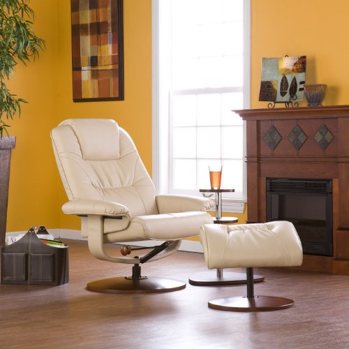 Recliner Chair And Stool 7767