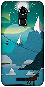 The Racoon Grip Alaska hard plastic printed back case / cover for Coolpad Note 3 Lite