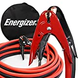 Energizer 1-Gauge 800A Jumper Battery Cables 25 Ft Booster Jump Start ENB-125 - 25' Allows you to boost a battery from behind a vehicle!