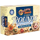 Valley Lahvosh Rounds Crackerbread, Original, 2-Inch Round, 4.5-Ounce Boxes (Pack of 12)