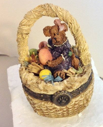 Boyd Bear Special Occadion Series Laurel Bearibean with Picasso Mouski Porcelain Box #392100 - 1