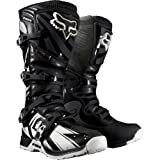 Fox Racing Comp 5 Undertow Men's Motocross/Off-Road/Dirt Bike Motorcycle Boots - Black / Size 8