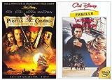 echange, troc Pirates des Caraïbes / Les Naufragés de l'île aux Pirates - Bipack  2 DVD