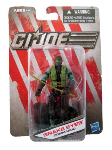 G.I. Joe Exclusive Action Figure, Snake Eyes Commando