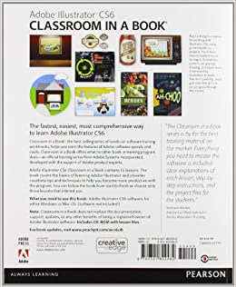 adobe illustrator classroom in a book cs6 with lessons files